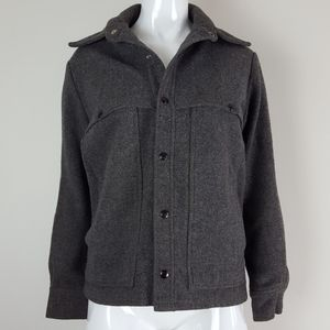 Vintage 60's Columbia Gray Wool Jacket